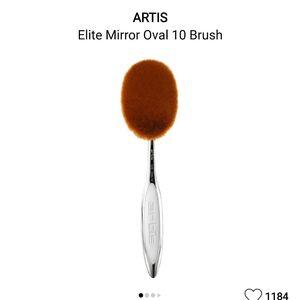 Artist oval 10 brush